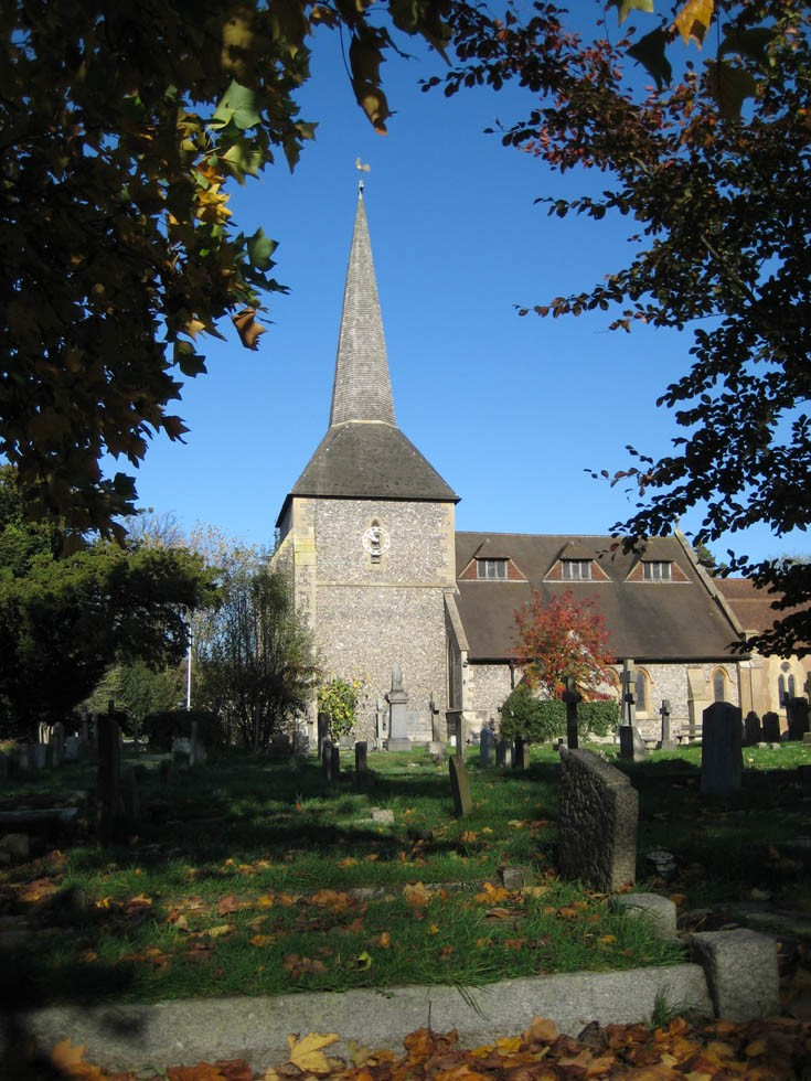 All Saints Church Banstead - Autumn 2009
