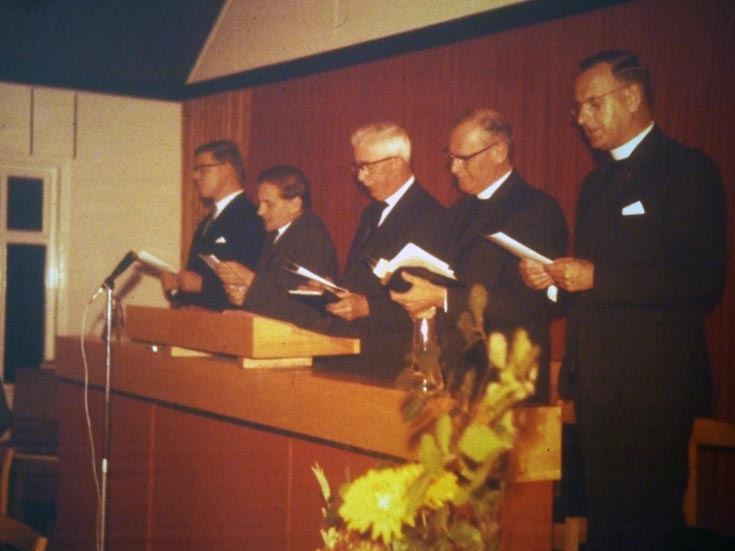 Opening of Banstead Baptist Church