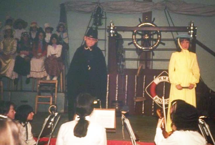 HMS Pinafore with P. Southgate & Julie Wilkinson