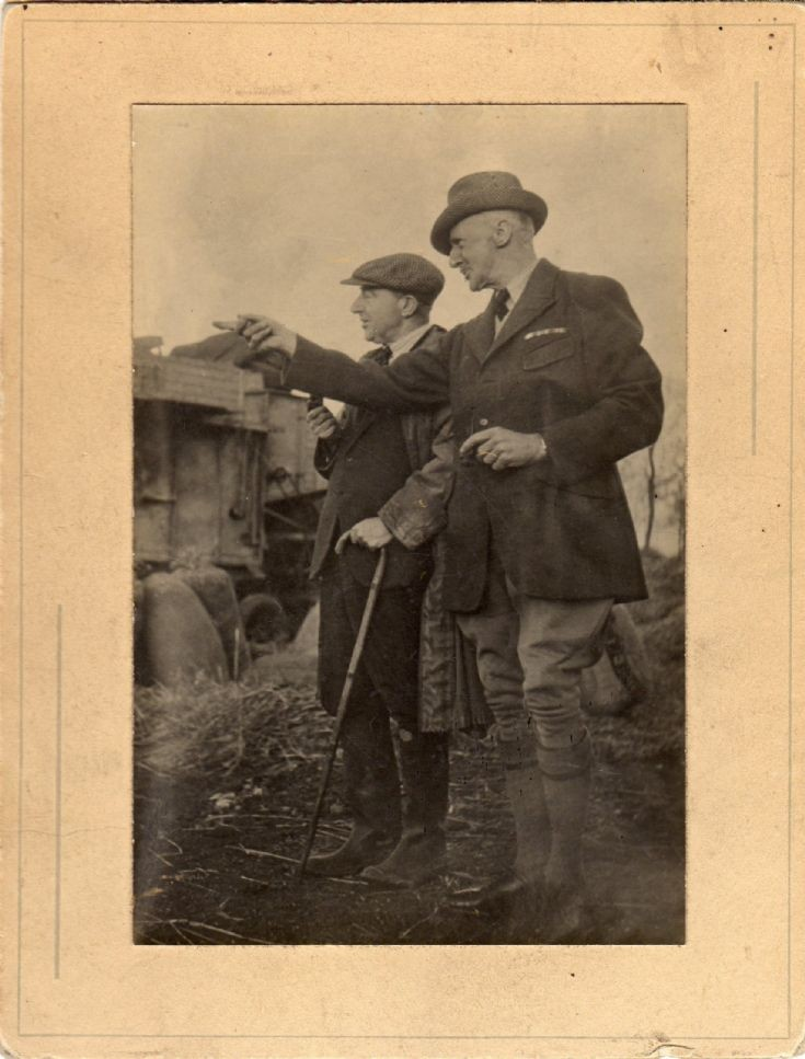 Ove Gerdes-Hansen with his Foreman