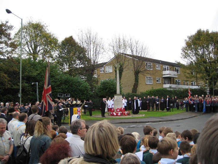 Remembrance Day 2009 at the Banstead War Memorial