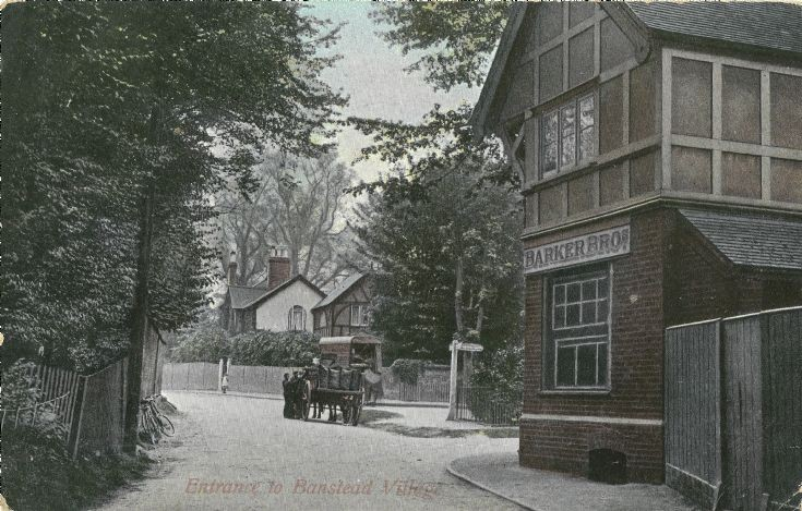 EASTERN END OF BANSTEAD HIGH STREET