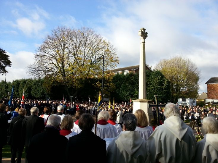 Remembrance Day Banstead War Memorial