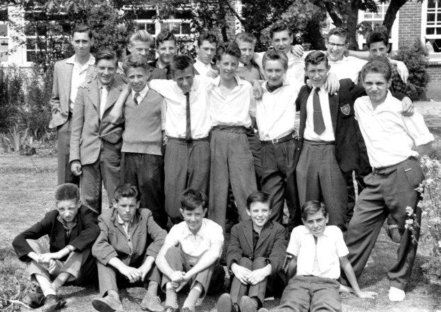 Form 4B, Picquets Way Boys School, 1958-59