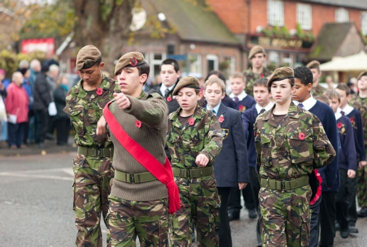 Remembrance Day 2009 - Army Cadets parade