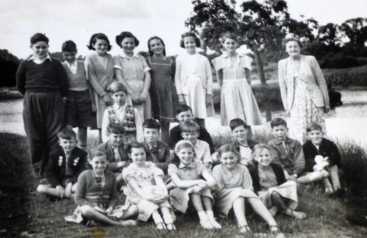 Burgh Heath Methodist School. Miss Parrot