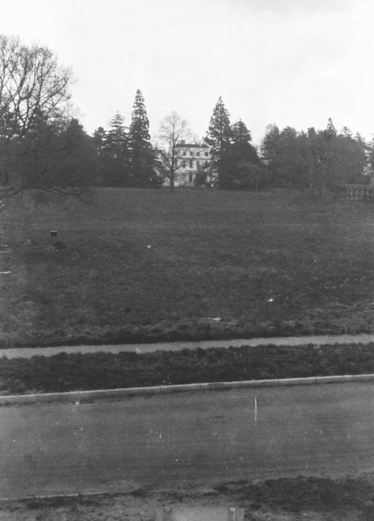 Garratts Hall shortly before demolition