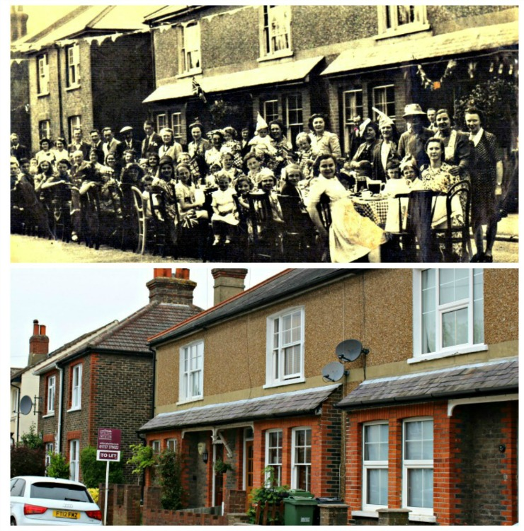 Ferndale Road - then and now