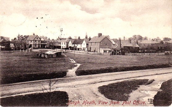 Burgh Heath in 1909