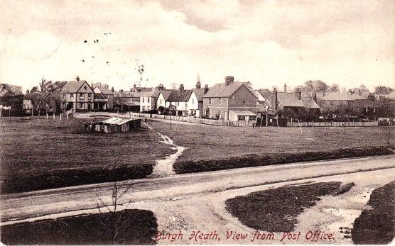 Burgh Heath in 1909