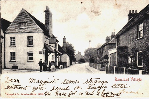 Banstead Village in 1904
