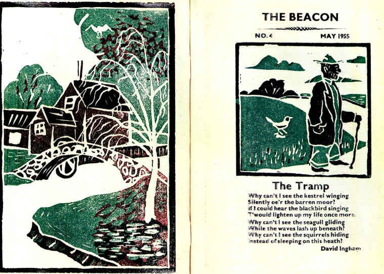 The Beacon magazine - May 1955