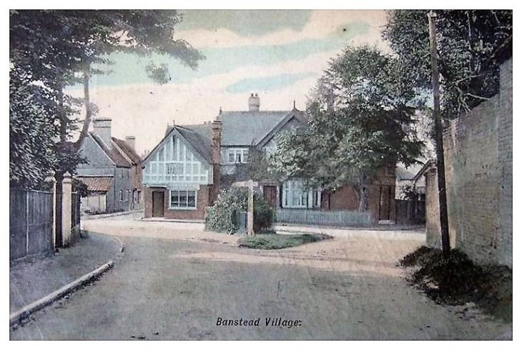 Eastern End of Banstead Village