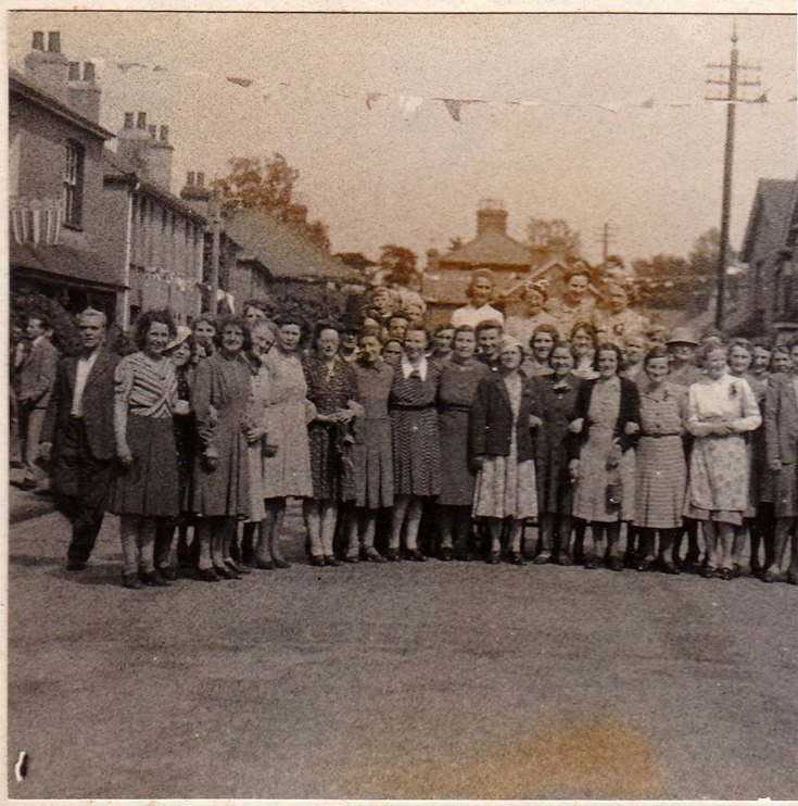 VE day celebrations Ferndale Rd Banstead
