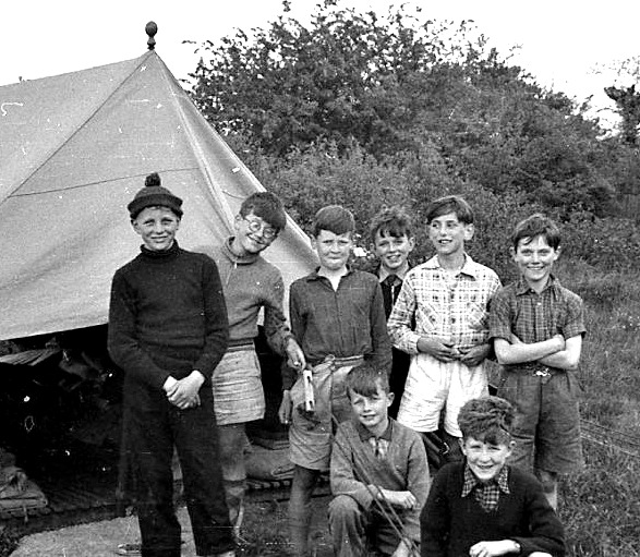 Happy campers at Henley Fort