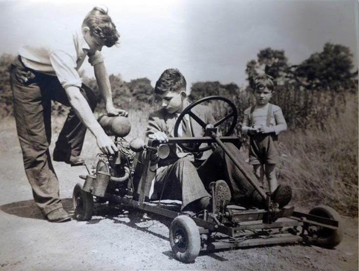 Banstead boy builds first 'Go-Kart'