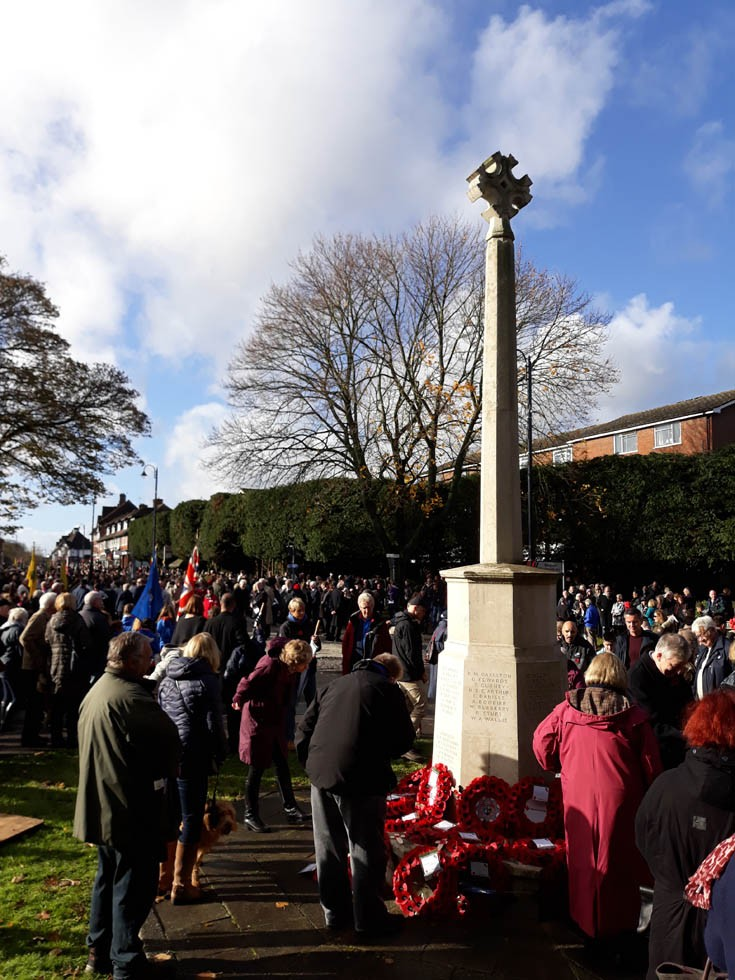 Remembrance Sunday 2018  WWI Centenary