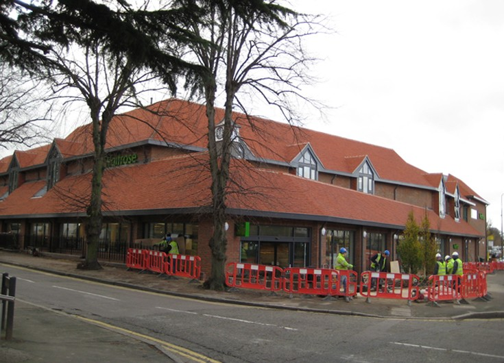 Waitrose banstead High Street 19 November 2009