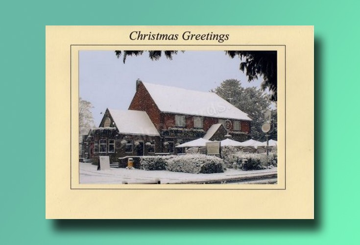 The Woolpack Banstead - Christmas card
