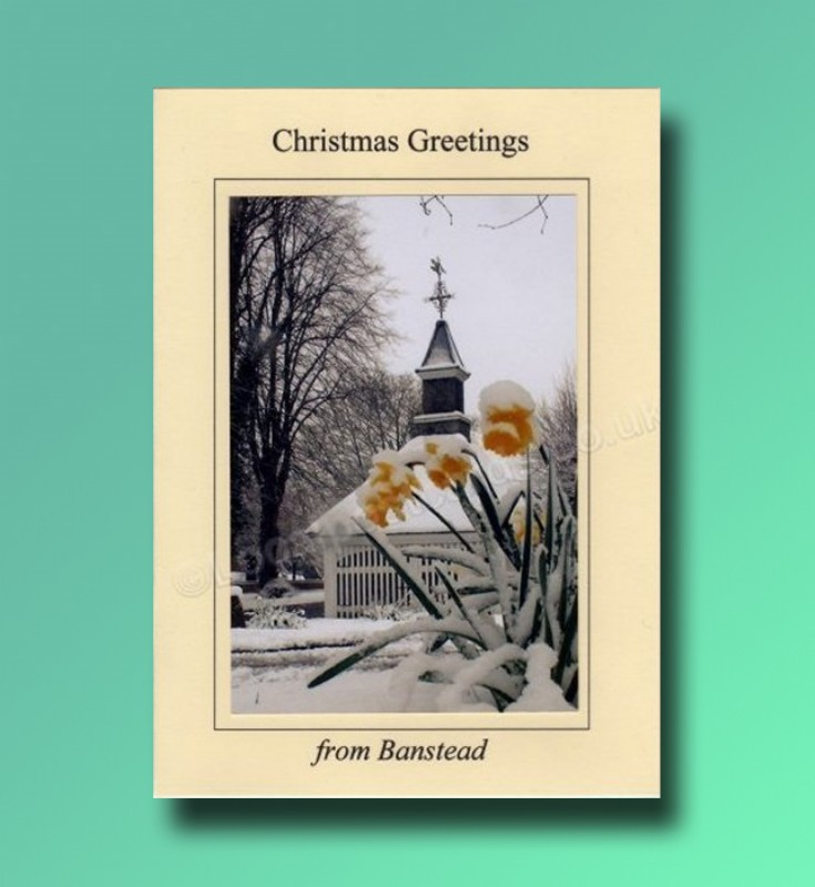 The Old Well - Banstead Christmas card