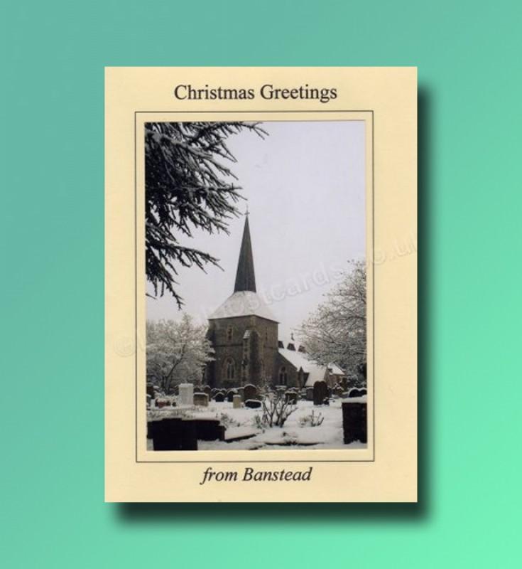 All Saints Church - Banstead Christmas card