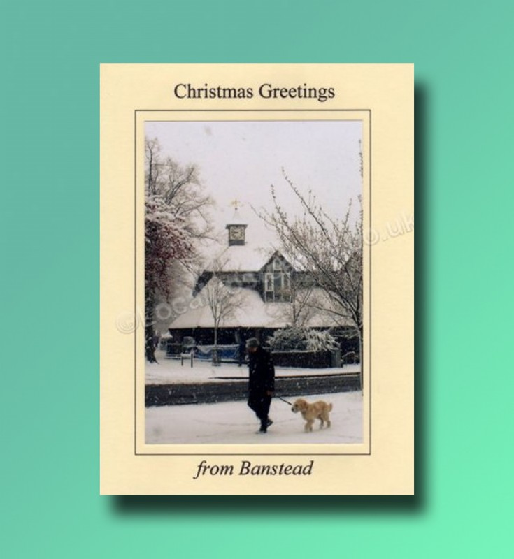 The Old Waitrose Banstead - Christmas card