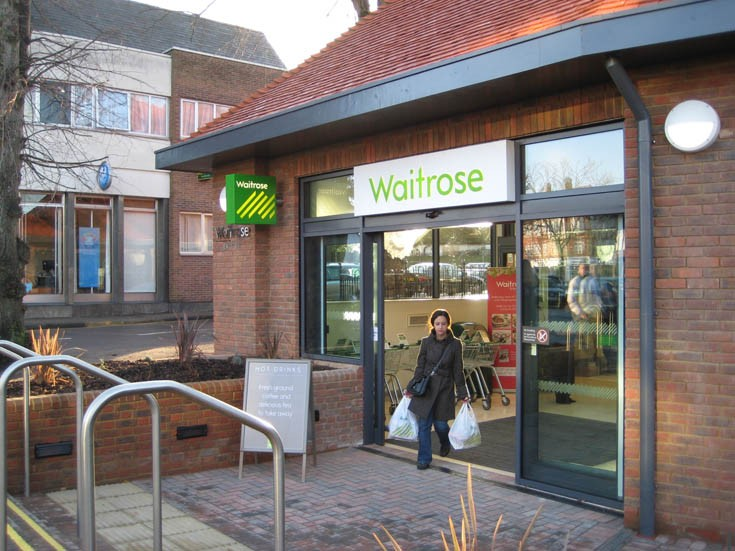 Waitrose Banstead - One of the first customers