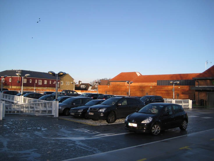 Waitrose Banstead - The new car park