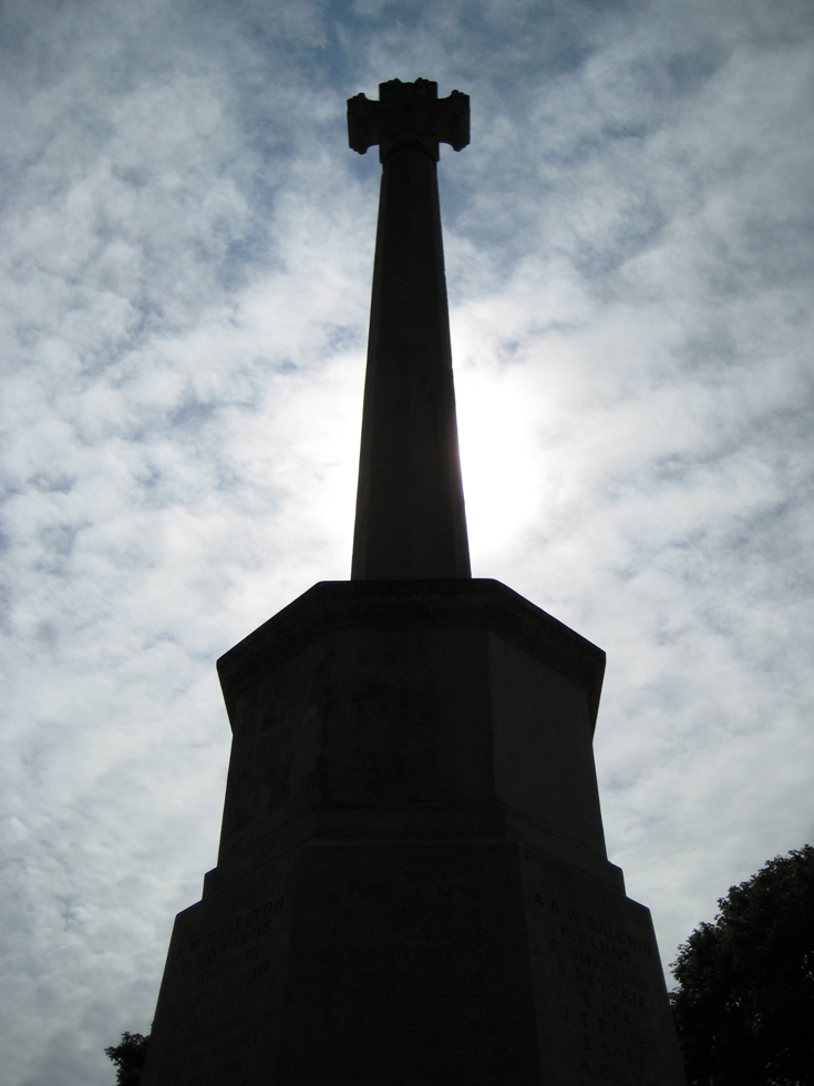 The Banstead War Memorial