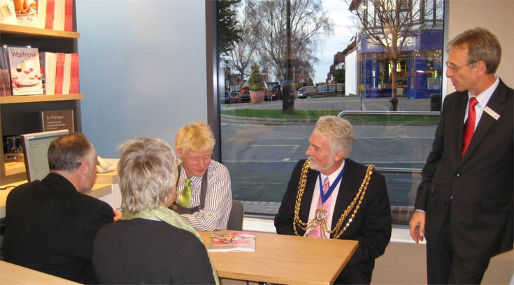 Waitrose Banstead - Mayor's visit