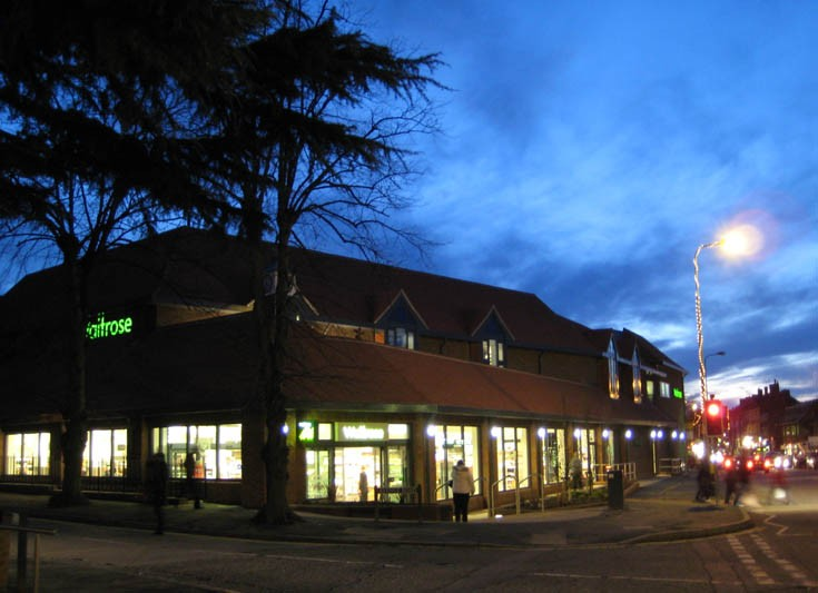 Waitrose Banstead - The end of a long day