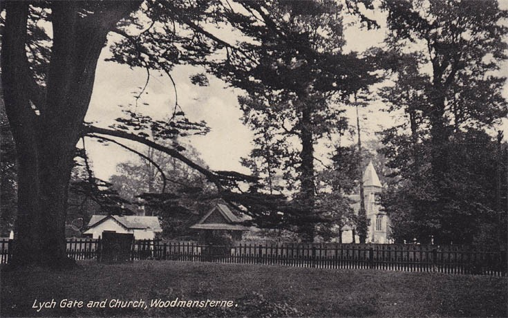 Lych Gate and Church, Woodmansterne.