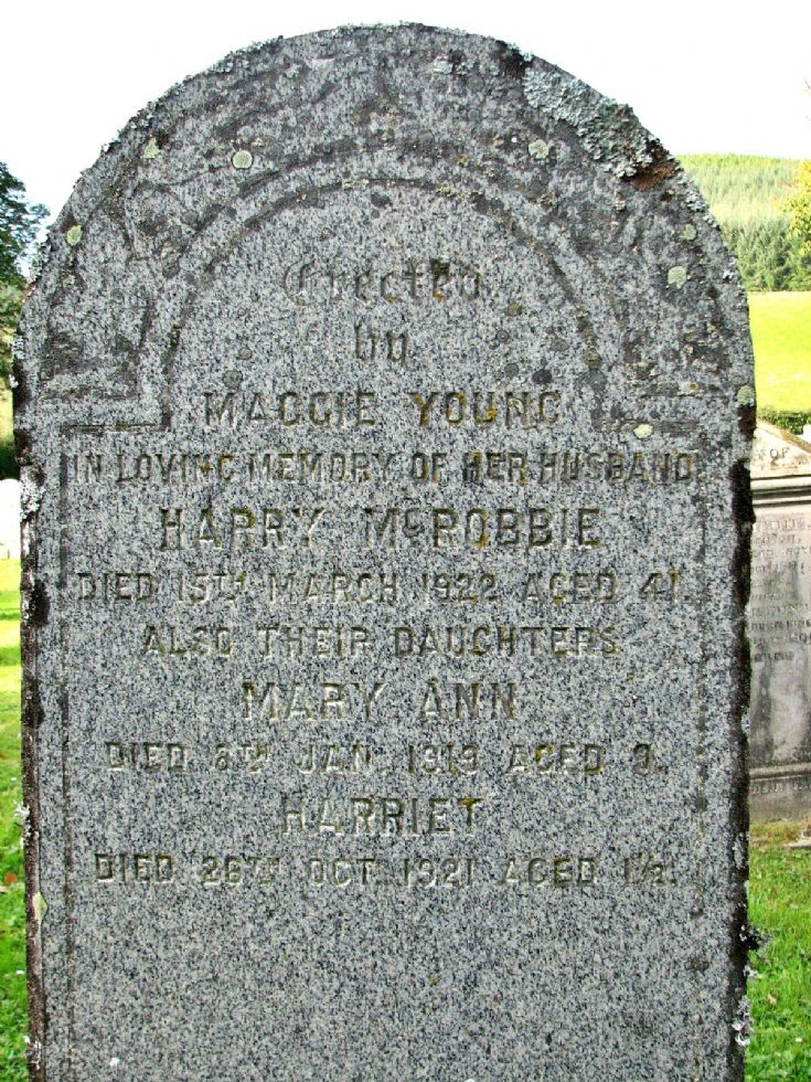 59 Grave No 68 Harry McRobbie