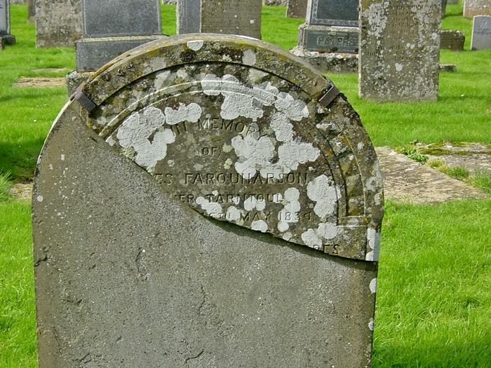 61 Grave No 70 James Farquharson
