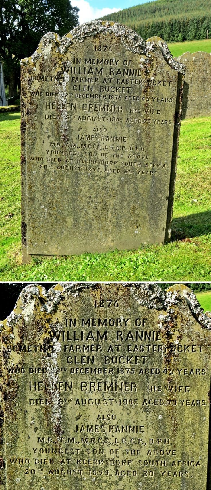 66 Grave No 80 William Rannie