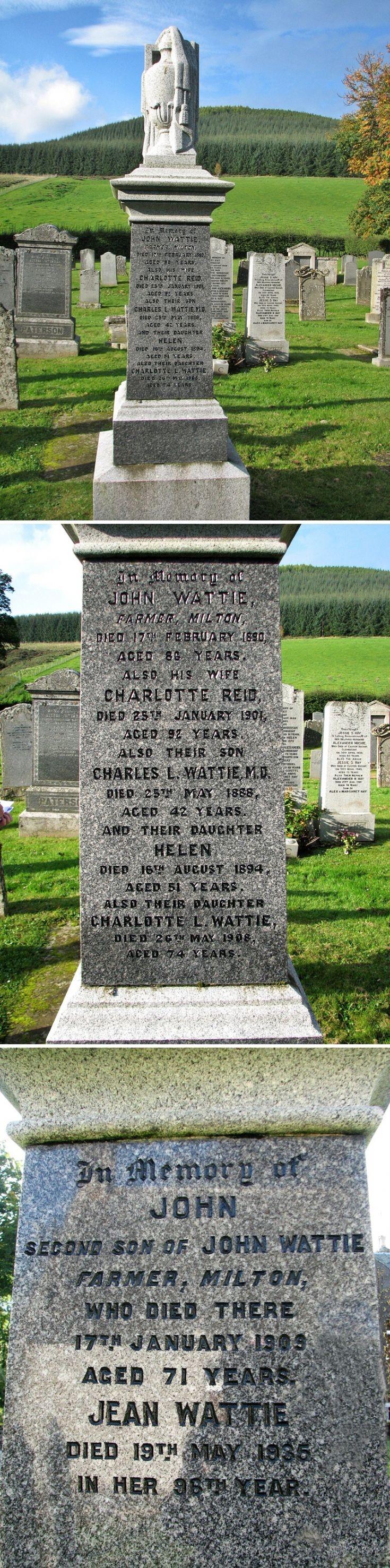 69 Grave No 88 John Wattie
