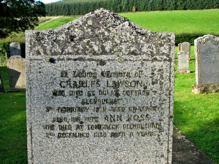 74 Grave No 100 Charles Lawson