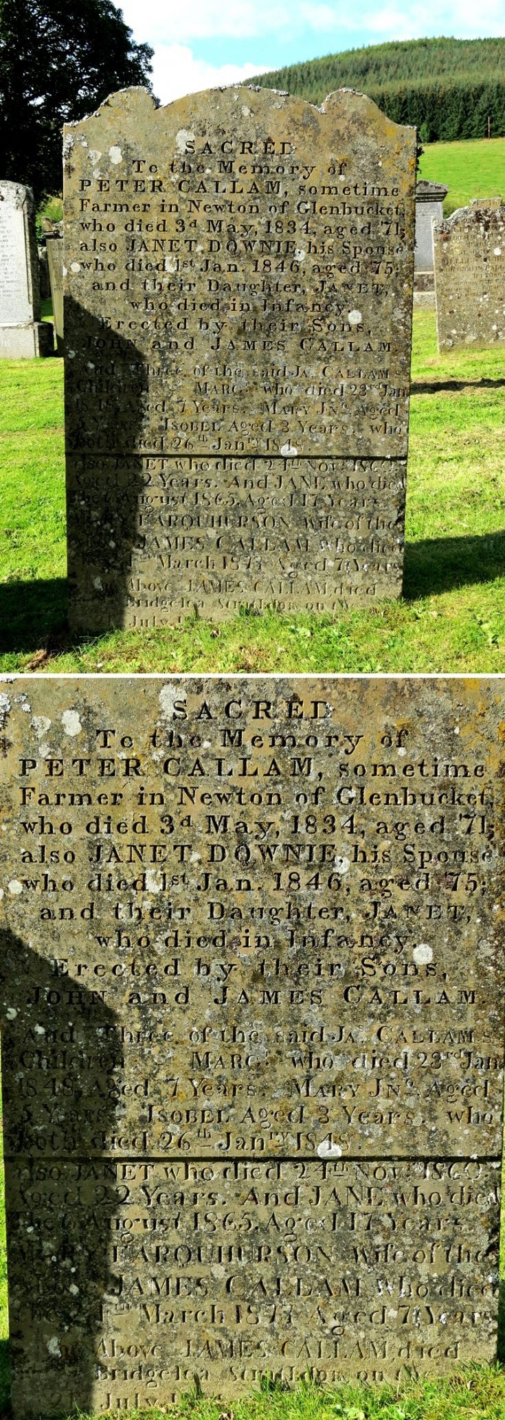75 Grave No 101 Peter Callam