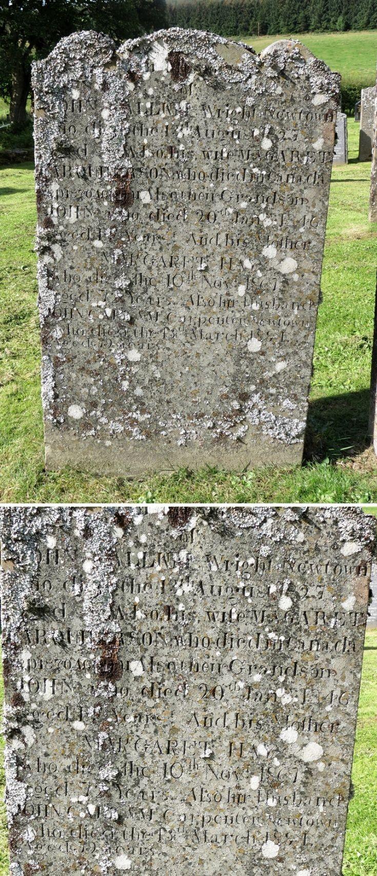 77 Grave No 103 John Callam