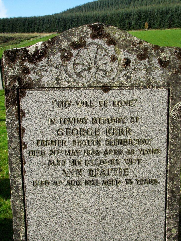 75 Grave No 105 George Kerr