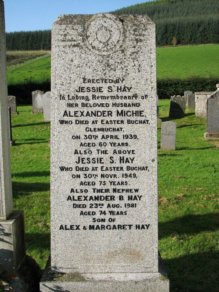 76 Grave No 106 Alexander Michie
