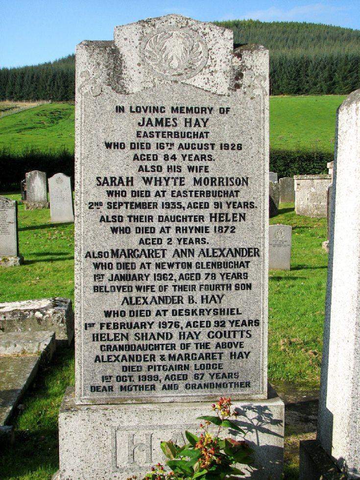77 Grave No 107 Hames Hay