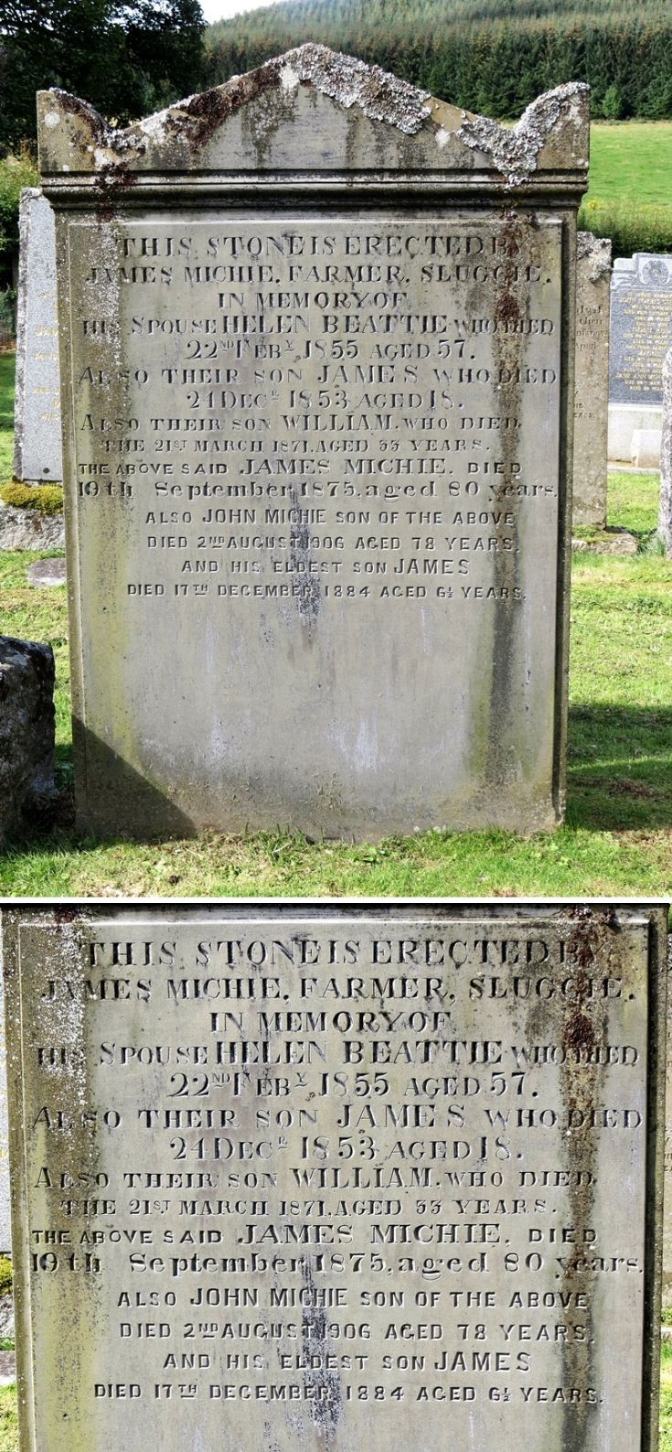 85 Grave No 121  Helen Beattie