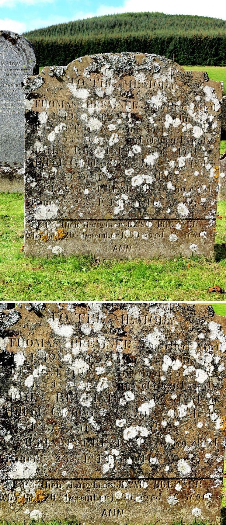 89 Grave No 125 Thomas Bremner