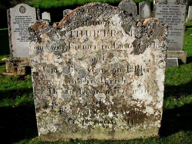 90 Grave No 126 Arthur Fraser
