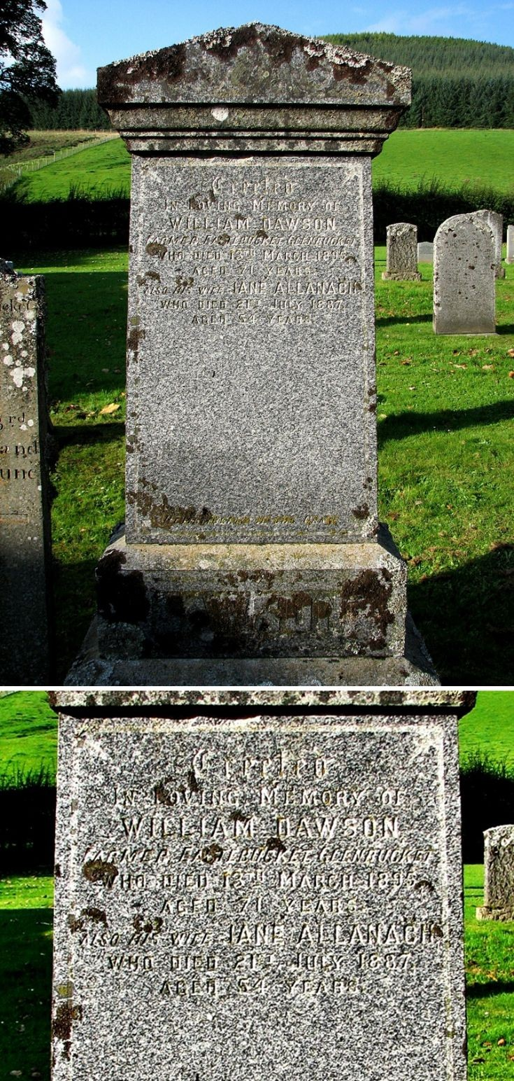91 Grave No 127 William Dawson