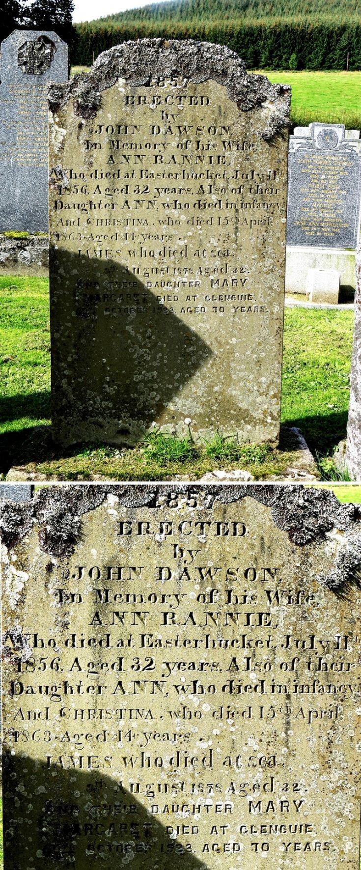 94 Grave No 130 Ann Rannie