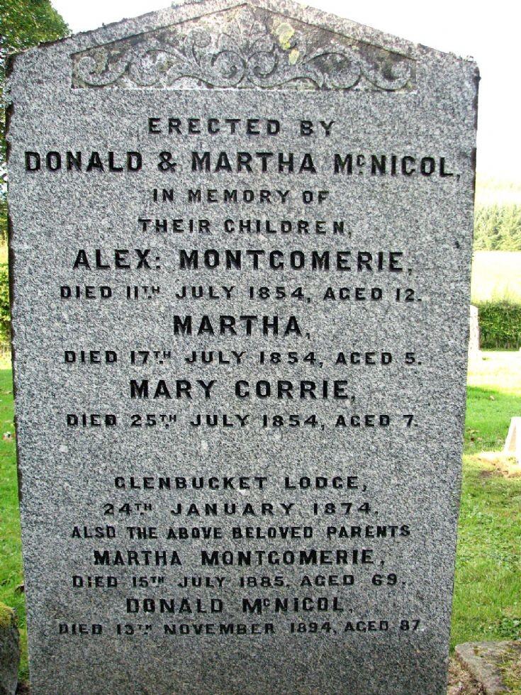 95 Grave No 131 Alex Montomerie