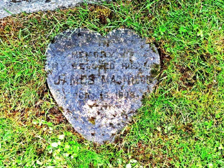 97 Grave No 133 James McNicol - Flat Stone