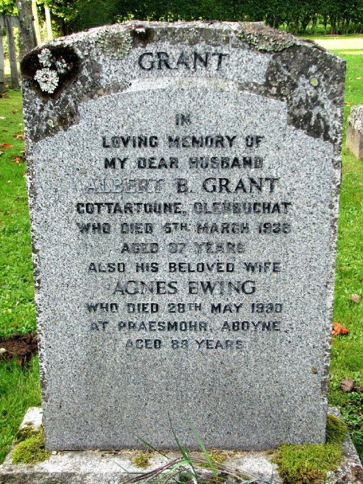 98 Grave No 134 Albert Grant